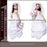 2015 White Girl Bridal Party Cosplay Costume Dress (TGY0075)