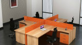 2017 Newest Orange Office Crossing Workstation for 4 People (SZ-WS263)