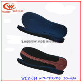 Rubber TPR Sole for Making Men Sandals Shoes