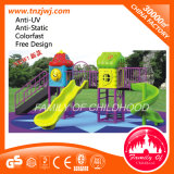 Outdoor Plastic Slide Children Playground Equipment for Kids