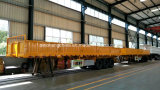 Tri Axle Side Wall Semi Trailer for Transport Goods