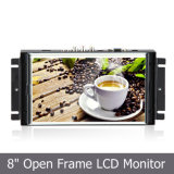 "8"" Open Frame 4-Wire Resistive Touch Monitor With16: 9 Widescreen"