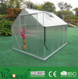 4mm Growell Walk -in Polycarbonate Greenhouses 6′ X 8′ SP6