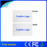 Free Samples Colorfull Logo Printing Credit Card USB Flash Drive