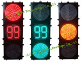 En12368 Certificated Traffic Light with Bi-Color 88 Countdown Timer