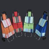 Large Lightweight Wheeled Outdoor Multifunctional Folding Trolley Shopping Cart Bag