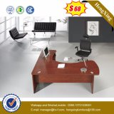 1.6m Melamine Lamianted Wooden L Shape Executive Office Table (HX-SD015)