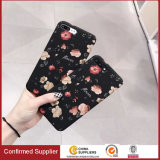Water Transfer PC Flower Mobile Phone Case for iPhone 7