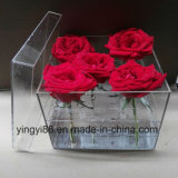 100% Acrylic Flower Box /Plastic Rose Box Shenzhen Factory