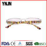 Conjoined Lenses Clear Plastic Frame Reading Glasses (YJ-240)