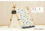Animal Cartoon Printing Wood Dog Tents Cotton Pads Pet House