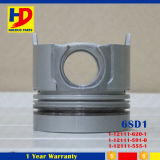 Engine Parts 6SD1 Piston with Pin in Stock with Standrand OEM Size