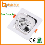 15W Lamp Lighting AC85V-265V LED Bulb Sloped LED Ceiling Down Light with COB Chips