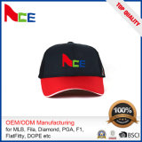 Wholesale Customized Brushed Cotton Twill Sandwich Embroidery Trucker Mesh Cap
