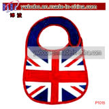 Baby Goods Cotton Interlock Baby Bib for Party Baby Clothing (P1015)