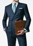Handmade Men′s Black Slim Fit Suit (MTM130049-1)