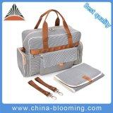 Custom Wholesale Multifunction Adult Changing Tote Baby Diaper Bag