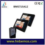 """7"""" TFT 2.4G Wireless Video Door Phone Intercom Doorbell Home Security 1 Camera 2 Monitor"""