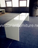Long Fast Food Table Chair, Corian Restaurant Dining Table, Marble Top Modern Banquet Table