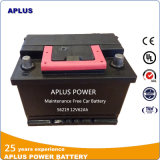 Hot Sale Maintenance Free Car Batteries 12V62ah in DIN Standard
