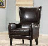 Modern Wooden Singer Fabric Classic Sofa (UL-NS474)