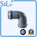 One Faucet One Insert 90° Elbow UPVC /PVC/Ppv Pipe Fitting