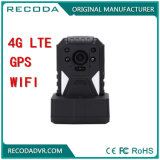 Ambarella A12 Super HD Body Camera with 4G GPS WiFi Cms Software Body Worn Camera