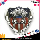 High Quality USA Flag Military Belt Buckle with Soft Enamel