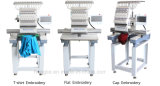 Holiauma Mixed Function Embroidery Machine for Clothe Shoes Flat Cap Bags Embroidery Machine Prices