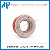 Swirl Ring 220353 for Hpr260 Plasma Cutting Torch Consumables