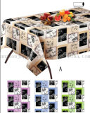 Custom Printed Water Proof PVC Table Cloth Cover Tablecloth