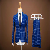Metal Button Men′s Made to Measure Suit