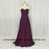 A Line Sleeveless Backless Evening Party Bridesmaid Dresses