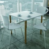 Leisure Cup Shaped White Plastic Cafe Chair (SP-UC388)
