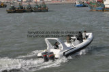 Liya 7.5m Hypalon Luxury Yacht Leisure Sport Boat China Made