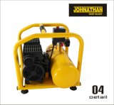 CE Approved 750W 1HP Portable Mini Silent Oil Free Air Compressor (JT75110F)