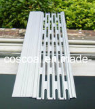 White Powder Coating Aluminium/Aluminum Alloy Gutter Guard