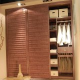 Environment Friendly Fitted Bedroom Wardrobes Flat Pack