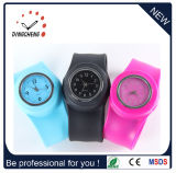Silicone Band Vintage Wrist Rubber Quartz Watch (DC-1033)