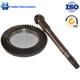 BS0020 14/53 Customized Spiral Bevel Gear for Horse Power Tractor The Rear Drive Axle Gear