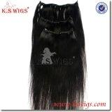 Top Virgin 100% Indian Hair Clip in Human Hair