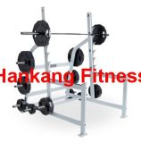 fitness, gym equipment, body-building, hammer strength, Olympic Squat Rack (HS-4013)