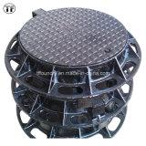Hinged Type Ductile Cast Iron Manhole Covers with Anti-Corrosive Coating