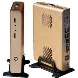 Fanless Dual Core Intel D525 SSD Mini PC (FOX-525S)