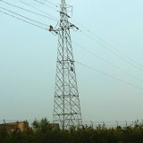 35 Kv Tension Power Transmission Angle Steel Tower