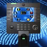 8 Inch Touch Screen Backup Battery Support Biometric Access Control Terminal with Time Attendance