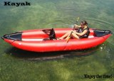 Red Color Kayak 2 Person Attractive Rowing Boat