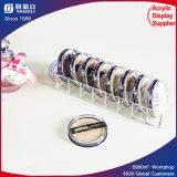 High Quality Customized Clear Makeup Acrylic Powder Compact Holder