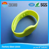 Custom Logo Road Luminous Neon Reflective Slap Wristband