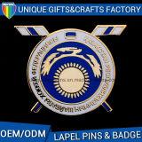 Custom America Metal Enamel Flag Badge with Factory′s Price